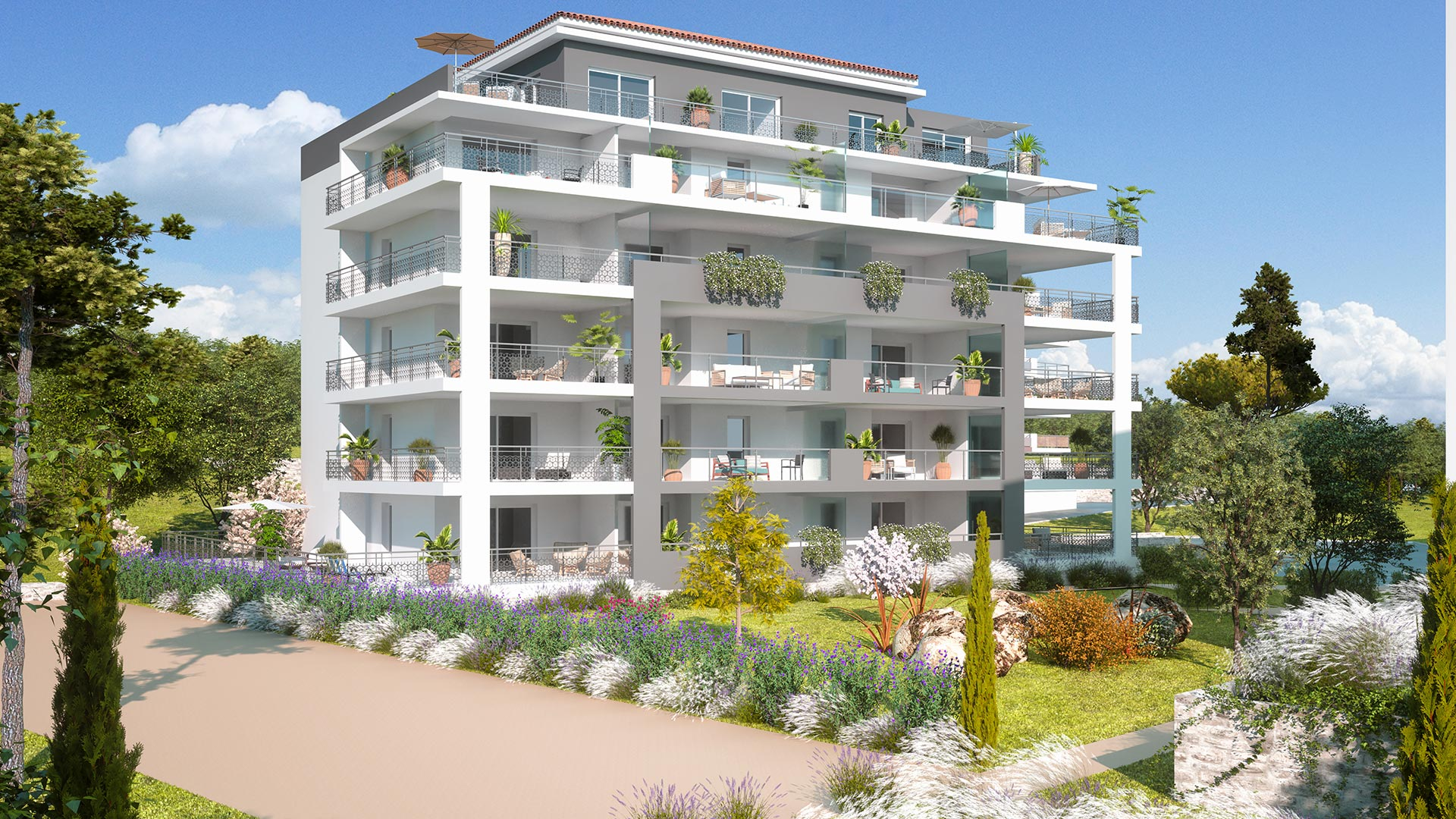 New apartments for sale in La Garde 83130