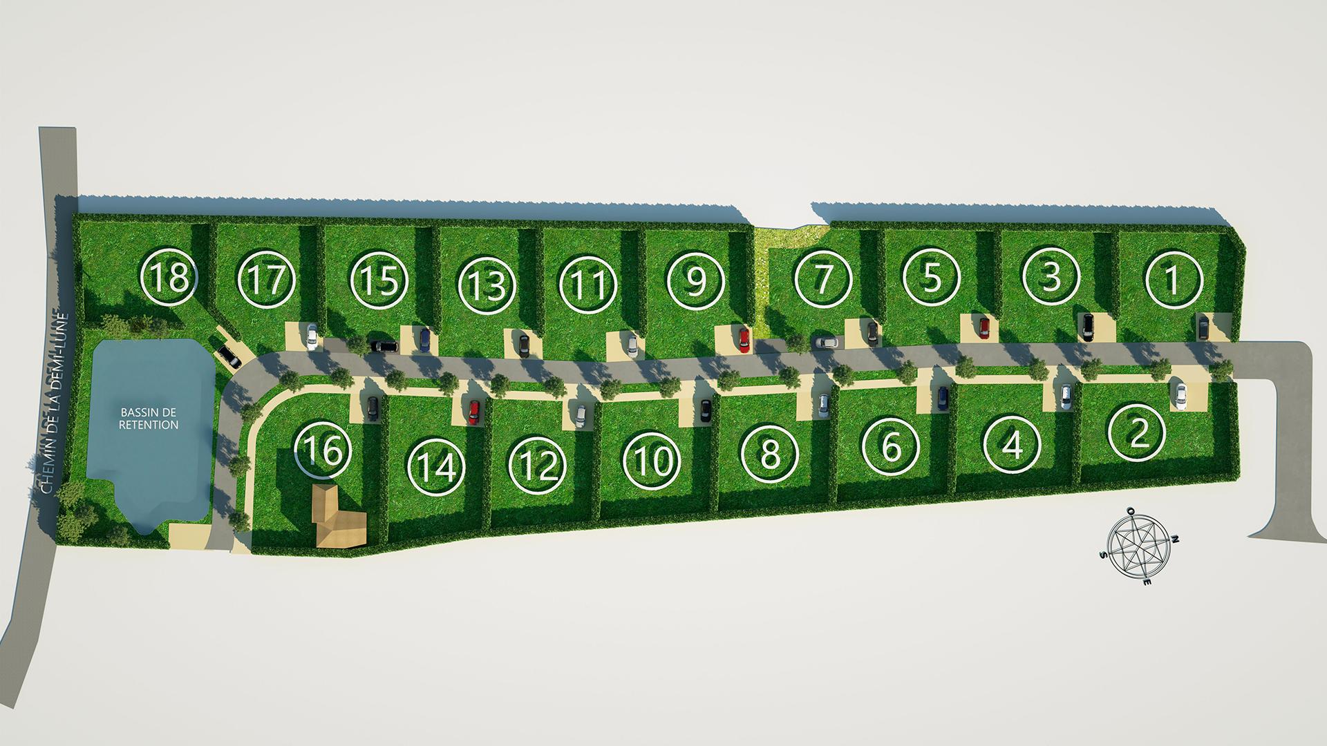 Terrain-constructible-a-vendre-Hyeres-83400