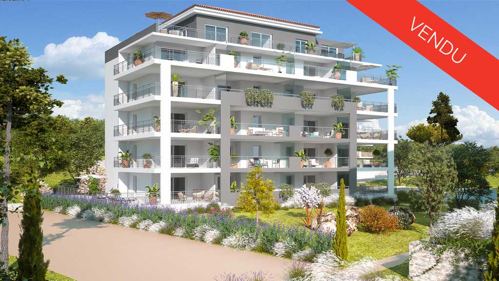 New apartments La Garde 83130